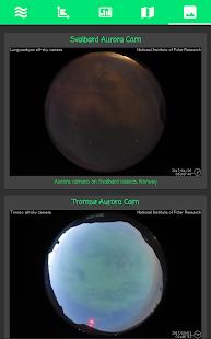 Aurora Borealis Forecast - náhled