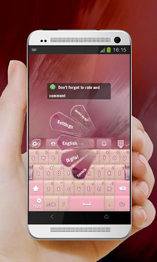 無料个人化Appの溶岩スプラッシュ GO Keyboard|記事Game