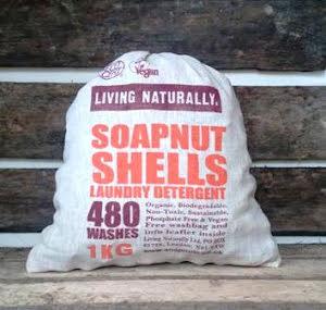 Living Naturally soapnuts Tvättnötter