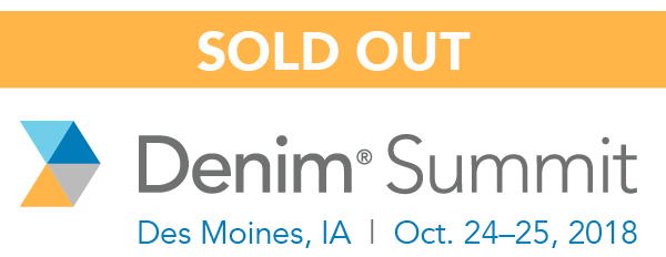 Denim Summit 2018 - Sold Out