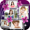 Cadre de photo fleur Collages