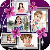 Flower Frame Photo Collages