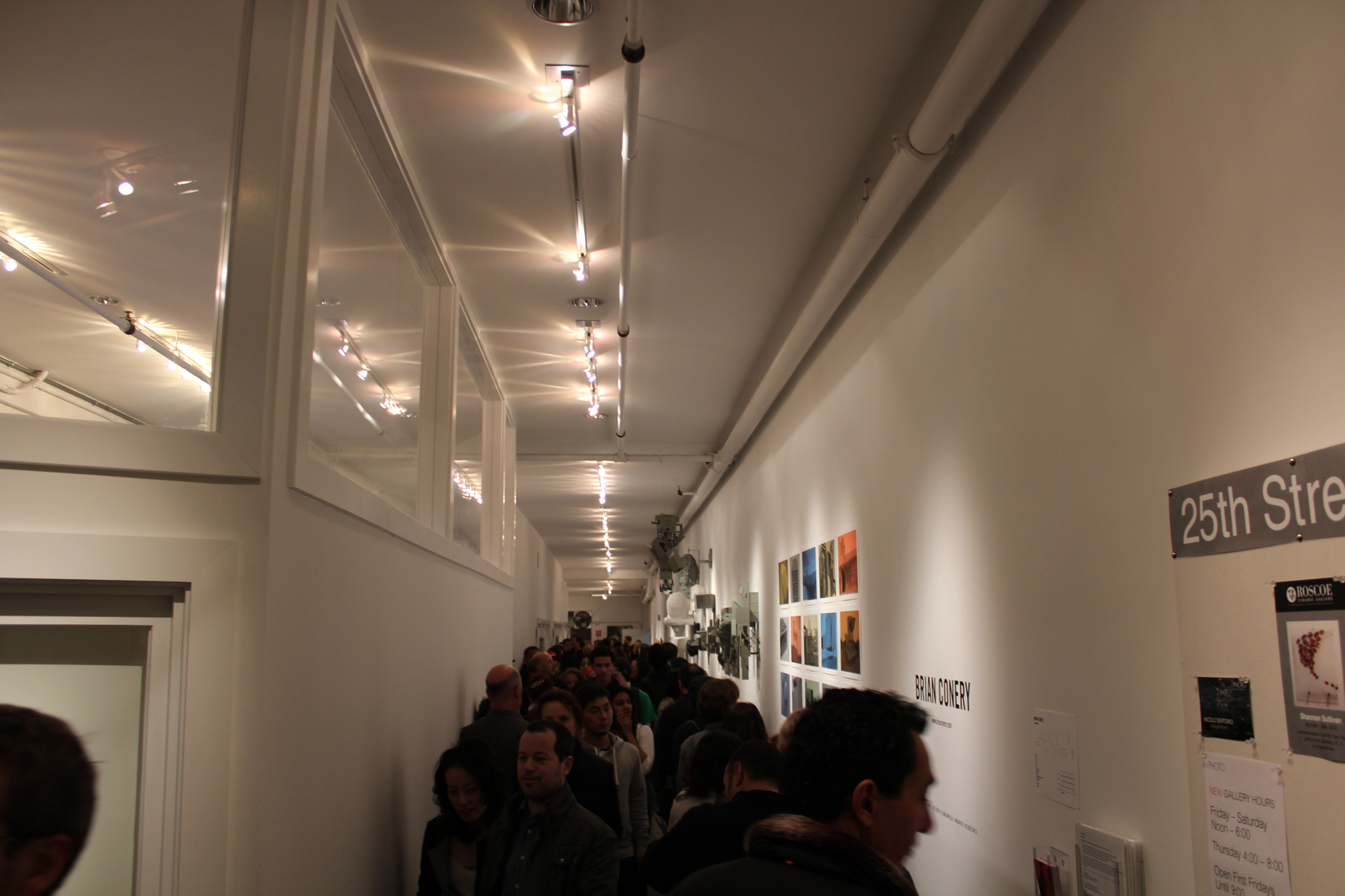 Photo: Inside The Wall Gallery at 473 25th Street in Oakland http://thewallgallery.blogspot.com