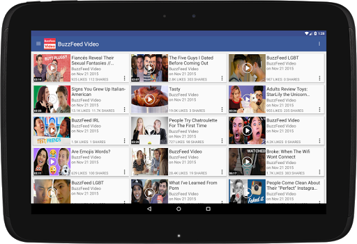Just Video Feeds for Facebook to explore Videos 4.180926 screenshots 7