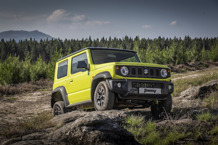 New Suzuki Jimny was amongst the top-ten sellers in the compact SUV segment despite only being on the market for a couple of months. Picture: SUPPLIED