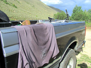 Photo: I let my shirt dry out for a while before heading home