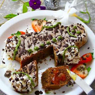 Chocolate Matcha Cake