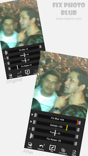 Rawzor Fix Photo screenshot