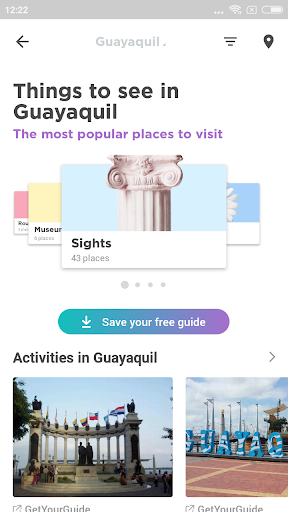 Guayaquil Travel Guide in English with map ss2