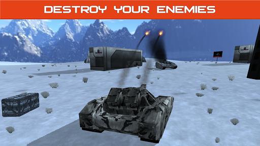 Tank Combat : Future Battles  captures d'u00e9cran 7