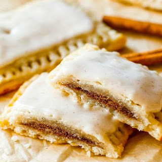 Homemade Frosted Brown Sugar Cinnamon Pop Tarts.