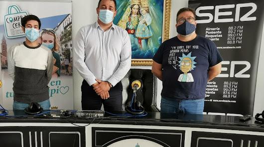 La SER muestra su apoyo a los comercios de Tíjola con Diputación