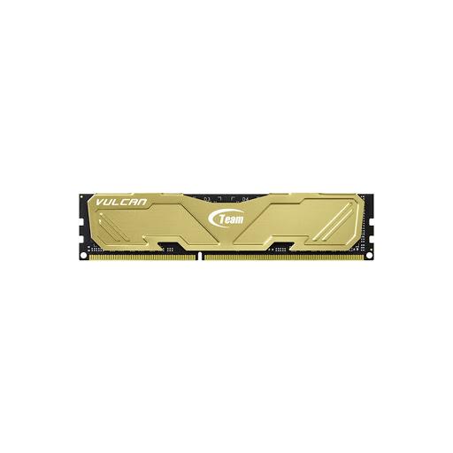 Bộ nhớ/ Ram Team Vulcan 8GB DDR3 1600 Heatsink (Gold)