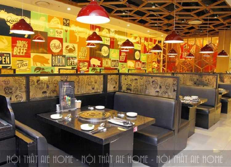 Thiết kế nhà hàng Isushi