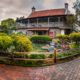 Fisherman Garden by Krasimir Lazarov - City,  Street & Park  City Parks ( san diego, united states, tourism, california, garden, park, architecture )