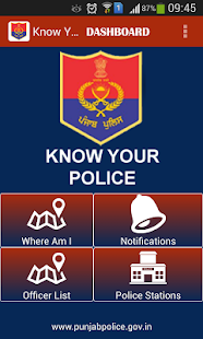Know Your Police- screenshot thumbnail