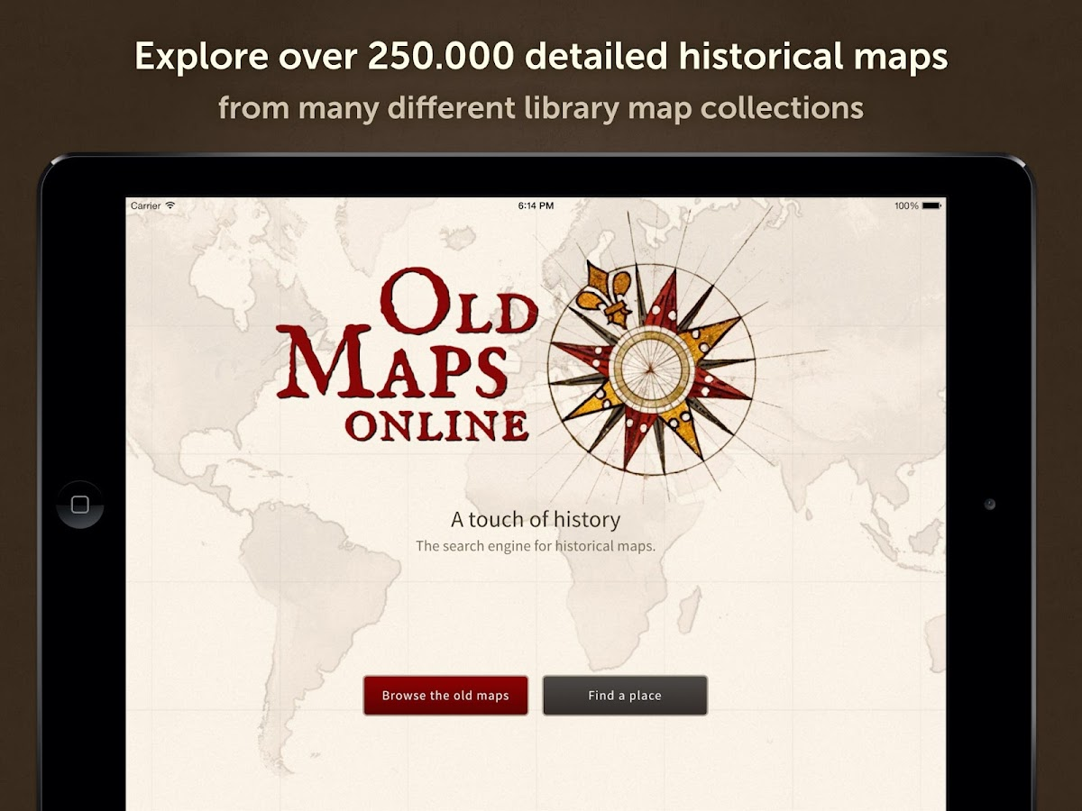 Old Maps: A touch of history- screenshot