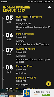 Cricket Live Scores & News- screenshot thumbnail