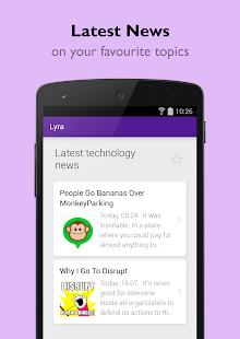 Lyra Virtual Assistant Screenshot