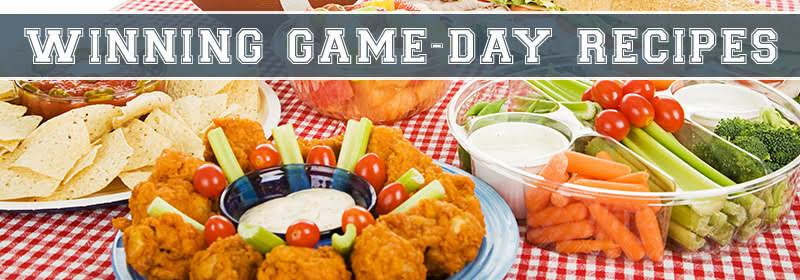 The Great Tailgate! Recipes
