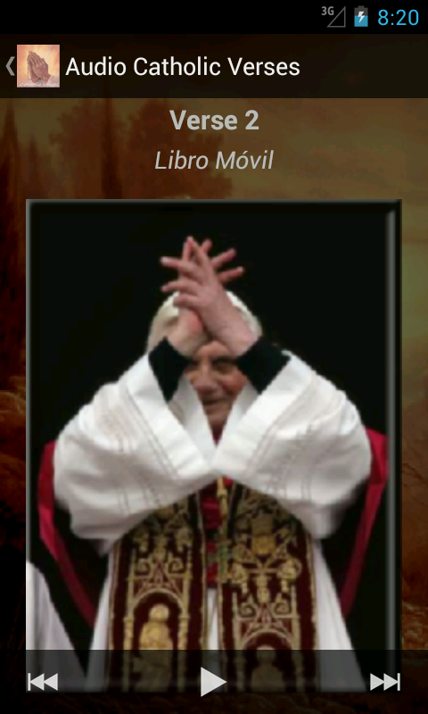 50 Audio Catholic Verses - screenshot