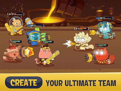 Steam Cats - Idle RPG Screenshot