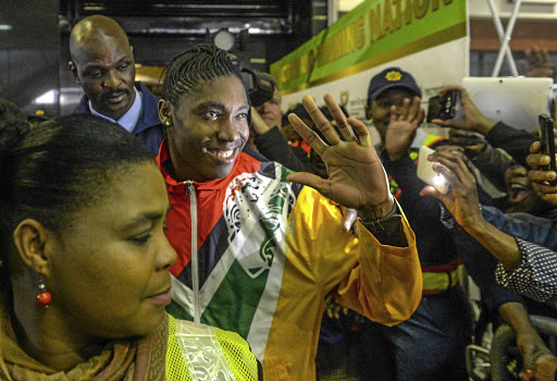 Caster Semenya may be South Africa's greatest athlete yet