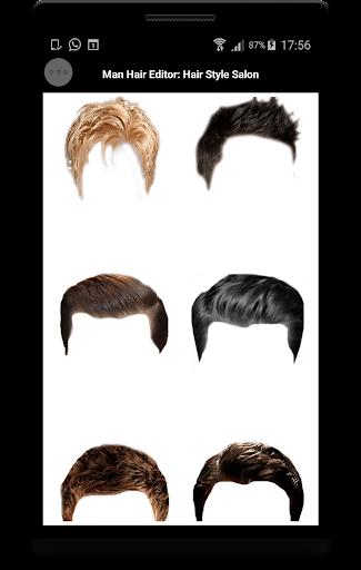 Man Hair Editor : Hair Style Photo Maker  screenshots 7