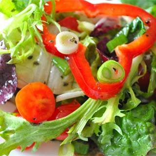 Italian Leafy Green Salad