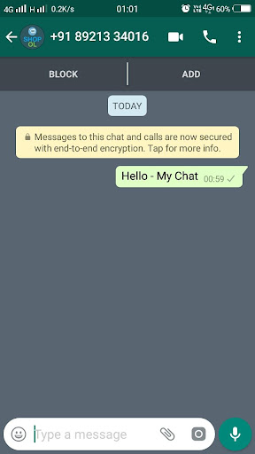 My Chat - Chat With Anybody In WhatsApp 2.7.7 screenshots 3