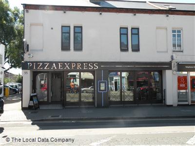 Pizzaexpress On The Broadway Restaurant Italian In