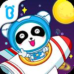 Little Panda Astronaut Icon