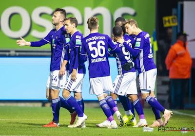 """Anderlecht dos au mur: """"Si nous voulons nous qualifier..."""""""