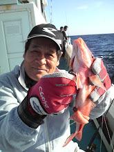 Photo: ・・・オジサン。  おじさんがオジサンを釣って・・・。
