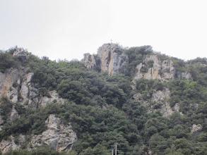 Photo: Croix et Belvédère au dessus du Village