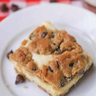 Cheesecake Chocolate Chip Cookie Bars Recipe