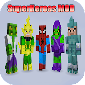 SuperHeroes MODS For MineCraft