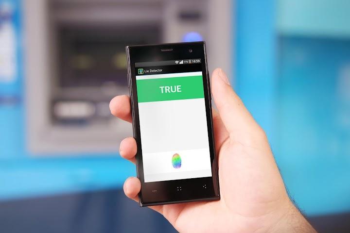 android Détecteur de mensonge Screenshot 0