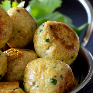 Indian Chicken Meatballs.