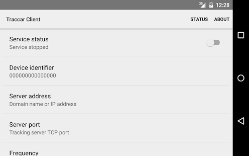 Traccar Client- screenshot thumbnail