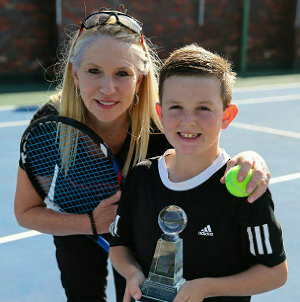 Under the guidance of coach Mandy Hobson, St George's Prep pupil Evan Swart won the U10 title in the national junior tennis championships in Bloemfontein earlier this month