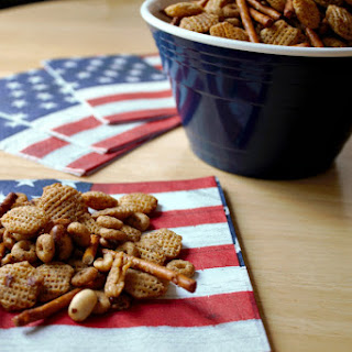 Honey Mustard Snack Mix.