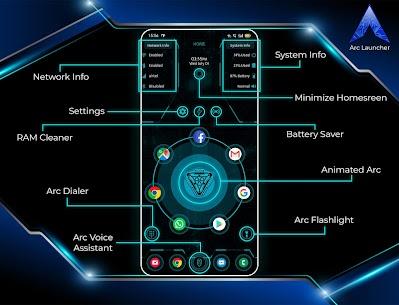 ARC Launcher® 2020 3D Launcher,Themes,App Lock,DIY Mod 4.1.7 Apk [Unlocked] 1