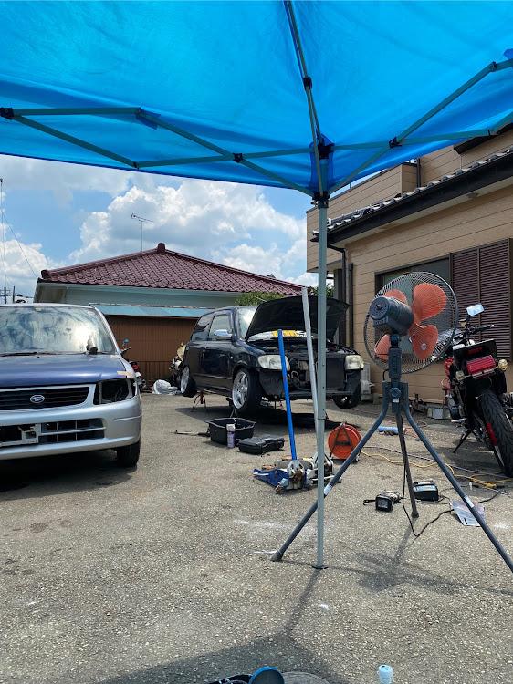ミラ L275Sの岡田自動車,KMG,たむぅが現れた!!,よーいちstyle,休日の出来事に関するカスタム&メンテナンスの投稿画像1枚目