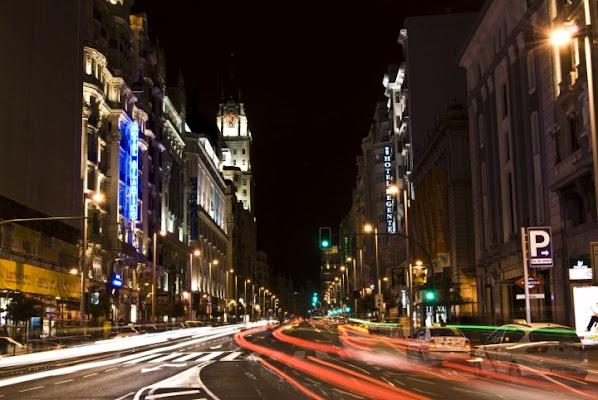 Madrid by night. di PaolaFranco