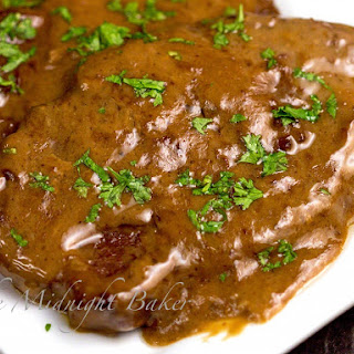 Slow Cooker Braised Steak.