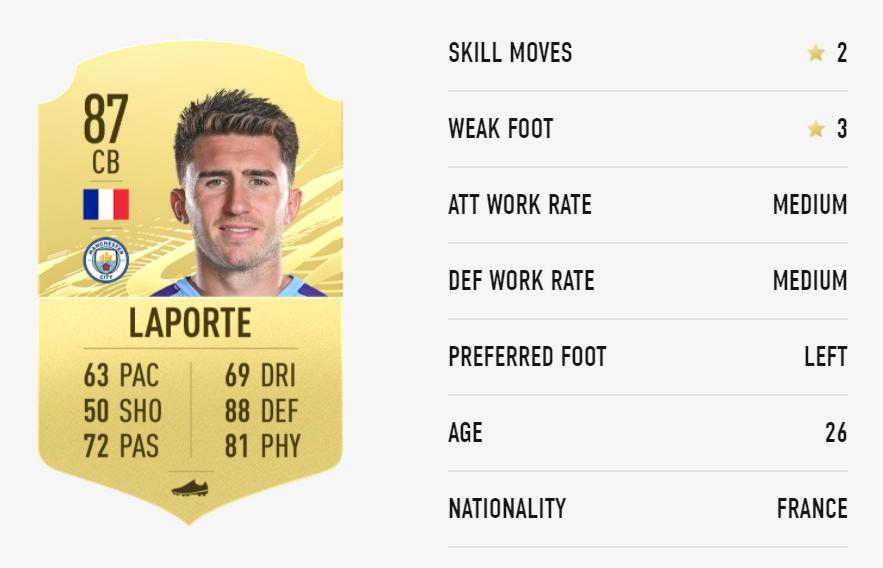 FIFA 21 Laporte