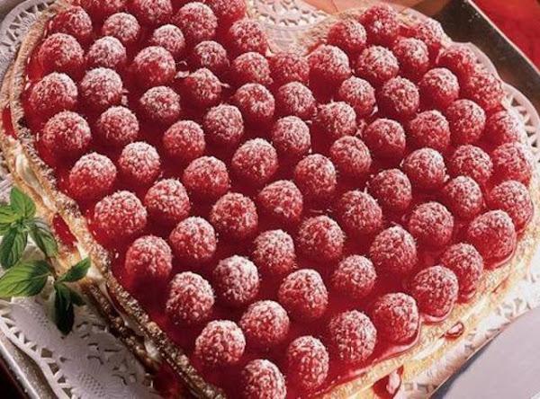 Raspberry Cream Heart Recipe