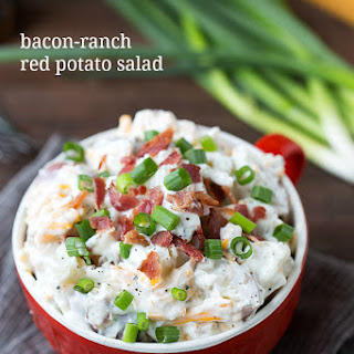 Bacon-Ranch Red Potato Salad.