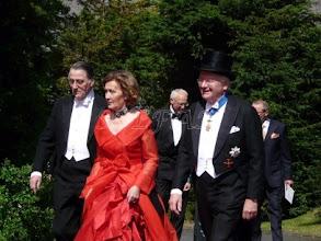 Photo: Fürst Philipp-Reinhard and Fürstin Marie zu Solms-Hohensolms-Lich, Prince Hubertus zu Sayn-Wittgenstein-Berleburg